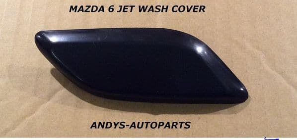 MAZDA 6 2007- 2010 HEADLAMP WASHER COVER L/H OR R/H PRIMED ONLY