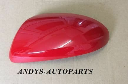 MAZDA 6 WING MIRROR COVER 2006 ONWARDS LH OR RH  IN TRUE RED