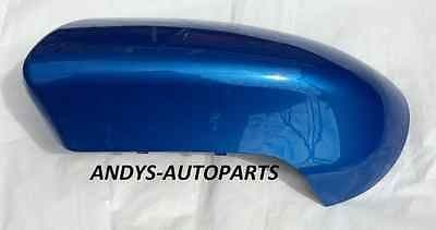 NISSAN QASHQAI ( DUALIS ) 2007 - 2013 WING MIRROR COVER NEW L/H OR R/H  IN INTENSE BLUE ( BV4 )