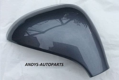 PEUGEOT 207 06 - 2013 WING MIRROR COVER LH OR RH IN IRON GREY