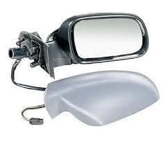 PEUGEOT 307 01 - 07 COMPLETE WING MIRROR ELECTRIC LH OR R/H PAINTED TO COLOUR