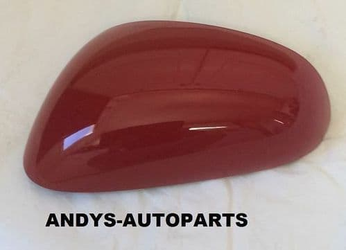 SEAT LEON 05-09 REPLACEMENT WING MIRROR COVER L/H OR R/H IN ROJO EMOCIAN