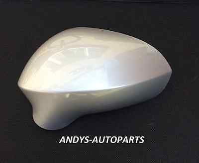SEAT LEON 2009-2012 WING MIRROR COVER L/H OR R/H IN ICE SILVER
