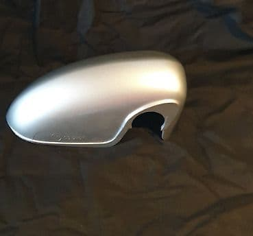 VAUXHALL CORSA D 06 ONWARDS DRIVERS SIDE WING MIRROR COVER IN STAR SILVER