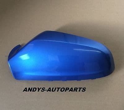 VAUXHALL / OPEL ASTRA WING MIRROR COVER 54 - 2009 LH OR RH SIDE IN ARDEN BLUE Z291 / L291 / 12L