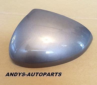 VAUXHALL / OPEL MERIVA WING MIRROR COVER 2010 ONWARDS L/HOR R/H IN SILVER LAKE