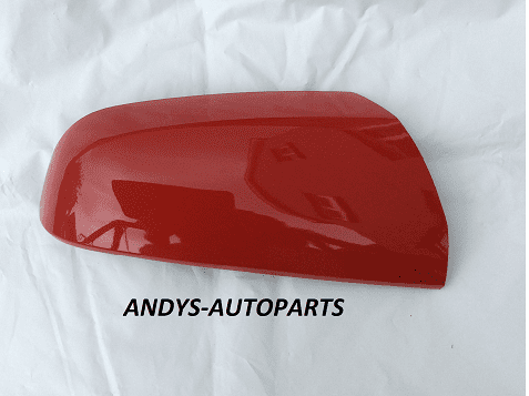 VAUXHALL / OPEL ZAFIRA B 2005 - 2009 (NEW) WING MIRROR COVER LH OR RH SIDE IN FLAME RED L547 / Z547