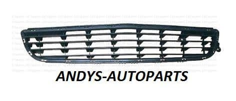 VAUXHALL ZAFIRA 2005 - 2008 FRONT BUMPER GRILLE