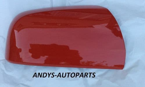 VAUXHALL ZAFIRA B 05-09 (NEW) WING MIRROR COVER LH OR RH SIDE IN FLAME RED
