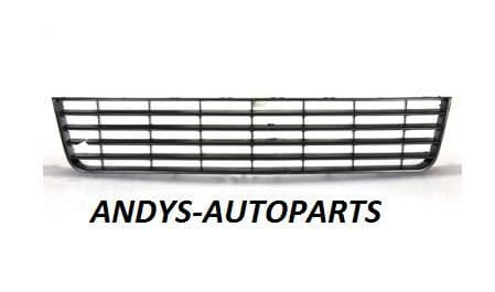 Volkswagen Golf 2009 - 2012 Front Bumper Grille Centre Section - No Chrome Trim (Standard Models)