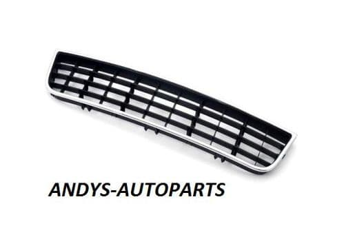 Volkswagen Golf 2009 - 2012  Front Bumper Grille Centre Section - With Chrome Trim (Standard Models)
