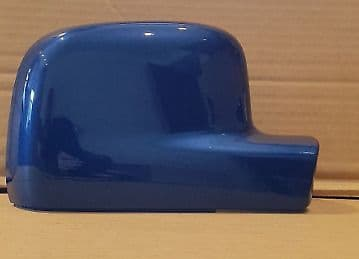 VOLKSWAGEN TRANSPORTER T5 DRIVER WING MIRROR COVERS 03 -2010 IN OLYMPIAN BLUE
