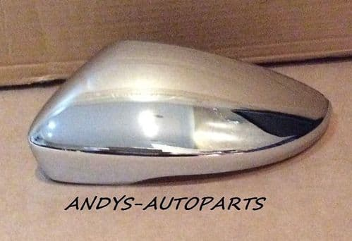 VW BEETLE 2011 ONWARDS WING MIRROR COVER L/H OR R/H IN CHROME