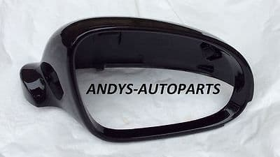 VW EOS 06-2010 WING MIRROR COVER L/H OR R/H METALLIC BLACK