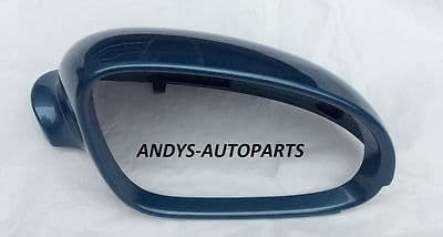 VW GOLF 2004 -2008 WING MIRROR COVER L/H OR R/H IN EISMEER BLUE