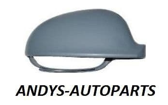VW GOLF 2004 -2008 WING MIRROR COVER L/H OR R/H PAINTED ANY VW COLOUR