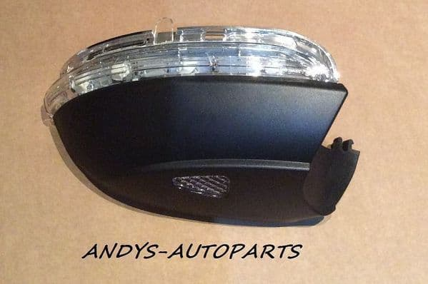 VW PASSAT 2010 ONWARDS WING MIRROR INDICATOR LENS WITH PUDDLE LAMP  L/H OR R/H