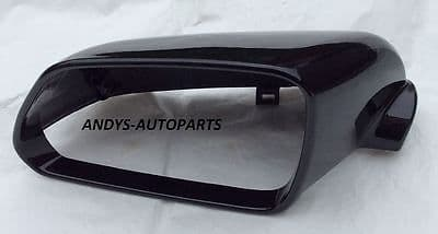 VW POLO 2005 - 2009 WING MIRROR COVER L/H OR R/H IN DIAMOND BLACK