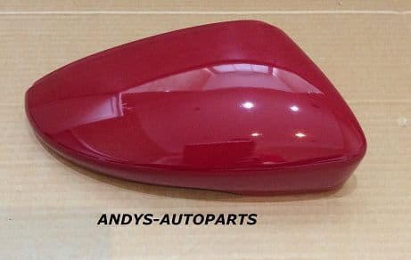 VW SCIROCCO 2008 ONWARDS WING MIRROR COVER L/H OR R/H IN SALSA RED