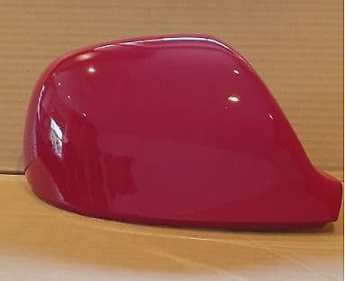 VW TRANSPORTER T6 10 ONWARDS WING MIRROR COVER L/H OR R/H IN SALSA RED