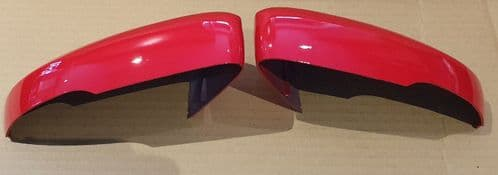VW UP 2016 ONWARDS PAIR OF WING MIRROR COVER IN FLASH RED