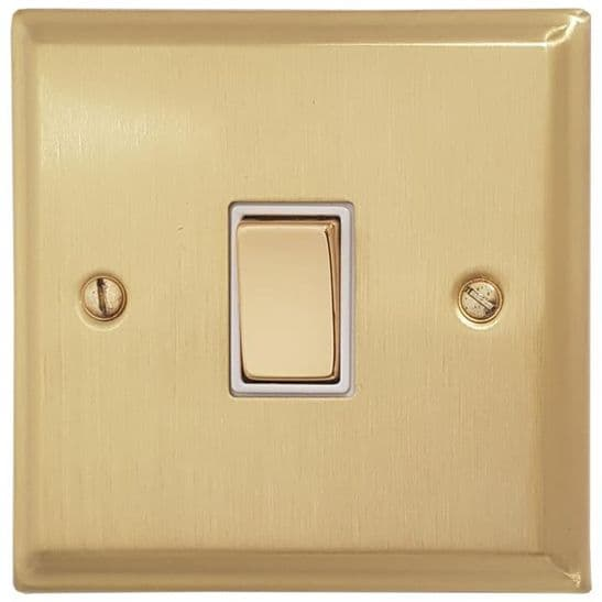 G&H Deco Plate Satin Brushed Brass
