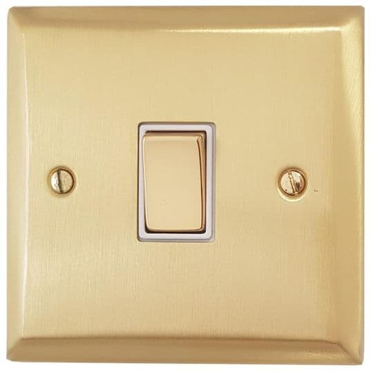 G&H Spectrum Plate Satin Brushed Brass