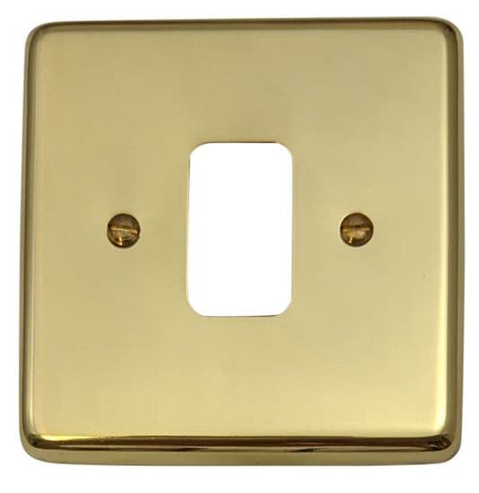 G&H Standard Plate Polished Brass