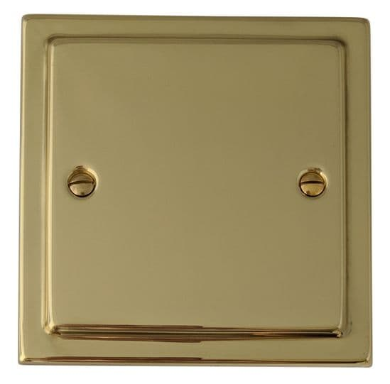 G&H Trimline Plate Polished Brass