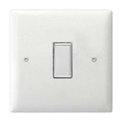 Varilight JOTS001C Value Polar White 1 Gang Touch Dimming Slave (use with V-Pro Master)