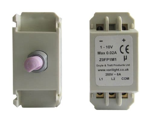 Varilight MFP1M1 Dimmer Modules 1-10V 2-Way Dimmer Module for multiple HF Ballasts