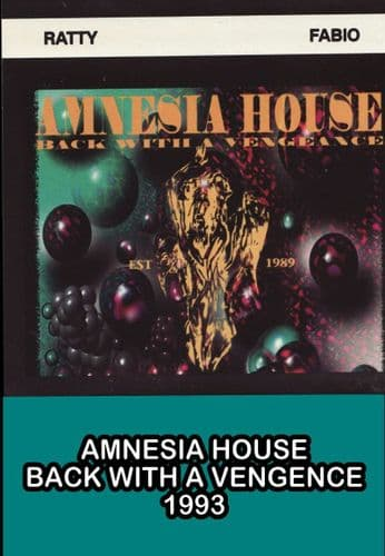 Amnesia House - Back With  Vengence - Double CD Pack - Part 2