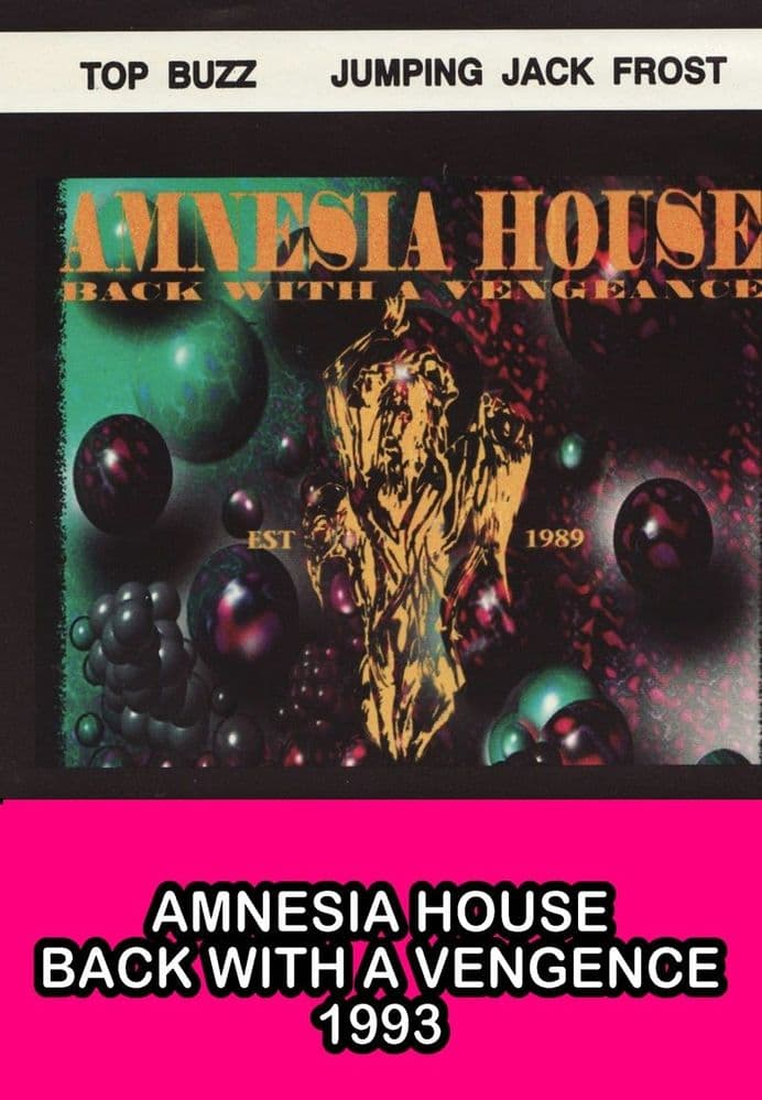 Amnesia House - Back With  Vengence - Double CD Pack - Part 3