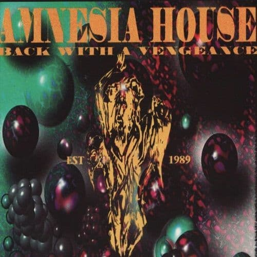 Amnesia House - Back With  Vengence - USB