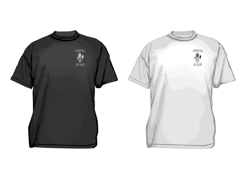 Amnesia House - Left Breast Logo - T-shirt