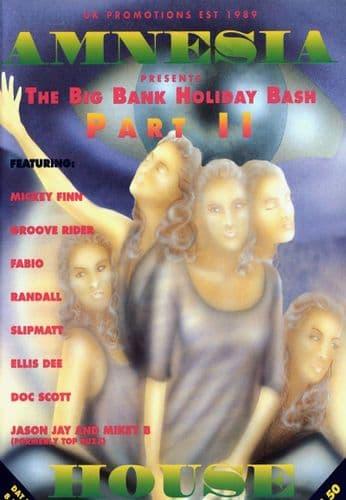 Amnesia House - The Big Bank Holiday Bash Part 2 - 1994 - CD Pack
