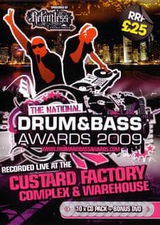 Drum & Bass Awards - 2009 CD Pack