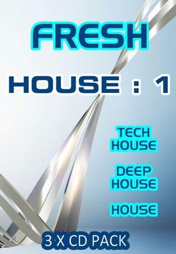 Fresh - House - 1 - CD Pack