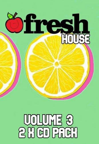 Fresh House - Volume 3 - CD Pack