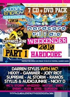 Global Energy Weekender 2010 Hardcore Vol 1