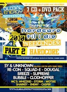 Global Energy Weekender 2010 Hardcore Vol 2