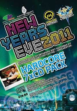 Hardcore Heaven and HTID - New Years Eve 2011-12 CD Pack