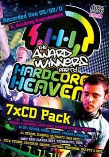 Hardcore Heaven Award Winners Party 2011 CD Pack