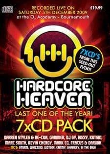 Hardcore Heaven December 2009 CD Pack