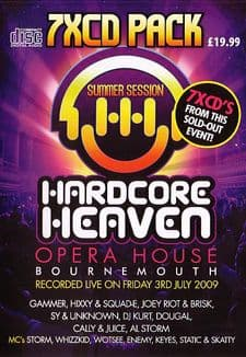 Hardcore Heaven July 2009 CD Pack