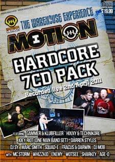 Hardcore Heaven Motion 2011 CD Pack