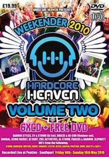 Hardcore Heaven -  Weekender 2010 Vol2 CD Pack