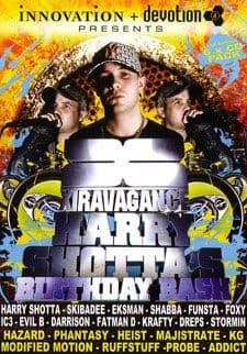 Harry Shotta's  - Birthday Bash -2010 - CD Pack