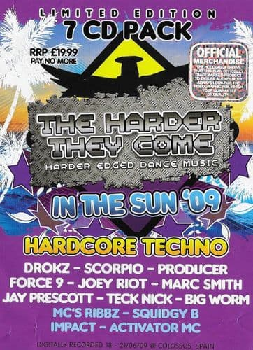 HTID - In The Sun 2009 - Techno Pack