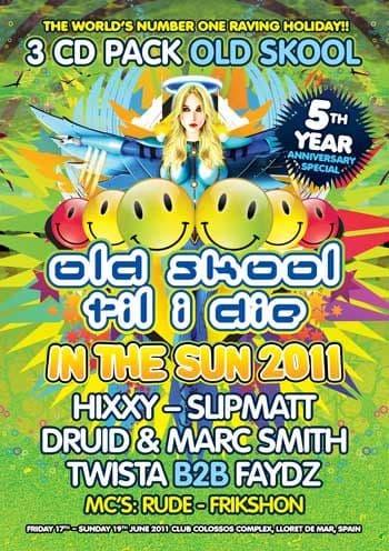 HTID In The Sun 2011 Old Skool CD Pack